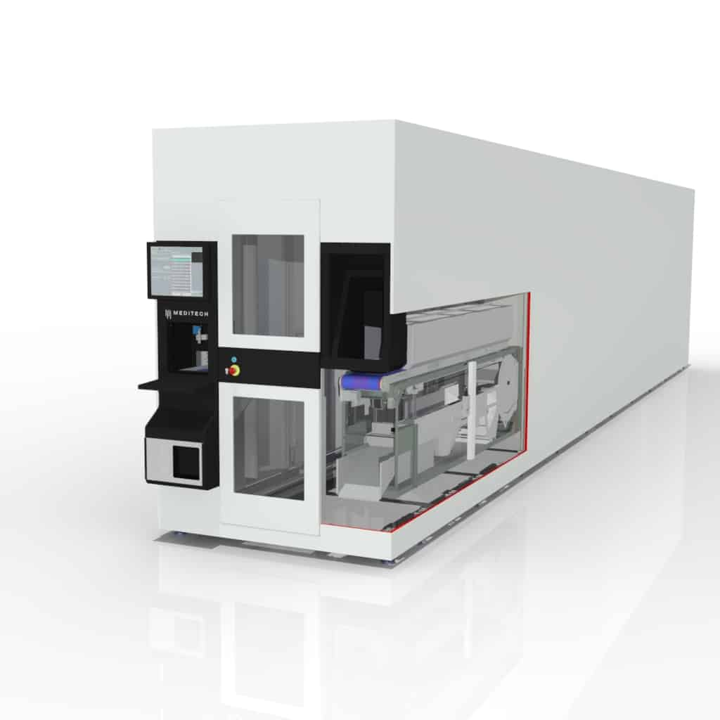 Dispensary Robot with internal Automatic Loading Module