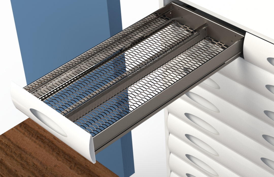 Campbelltown Concept-15-v02 Slow Mover Drawer Rendered Image - Drawer out