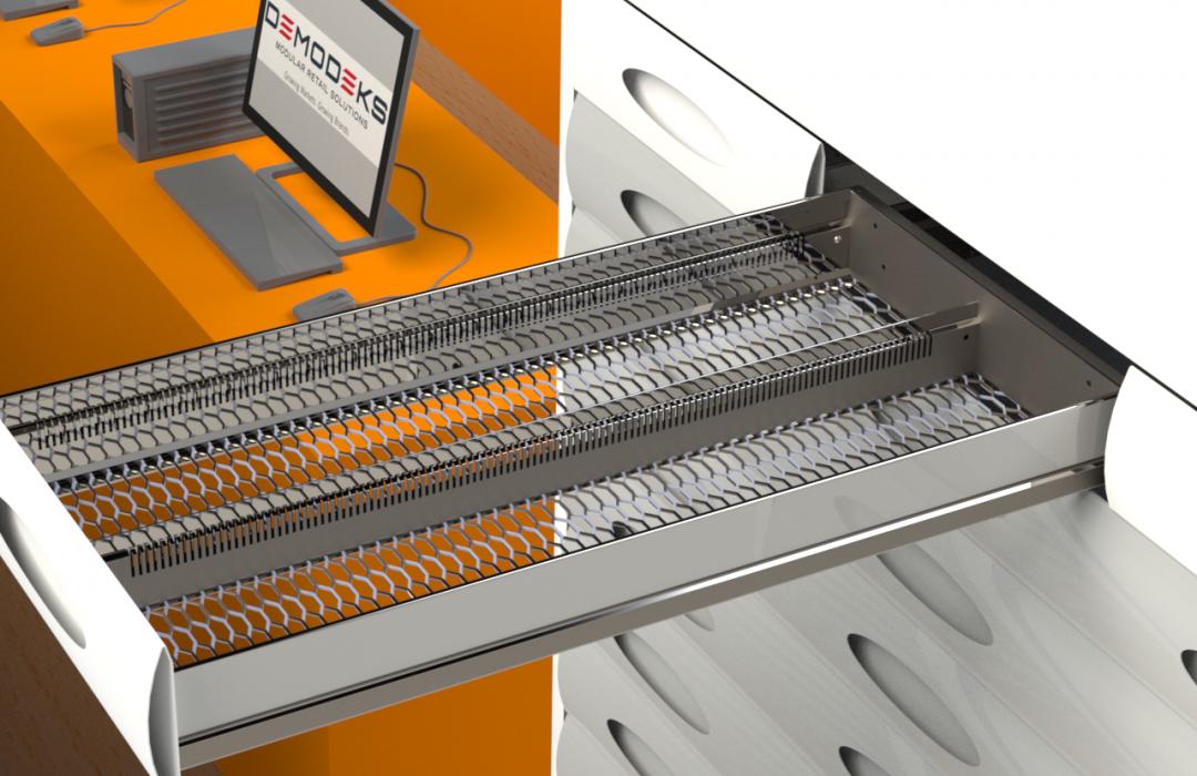 Campbelltown Concept-15-v02 Slow Mover Drawer Rendered Image - Drawer out V2